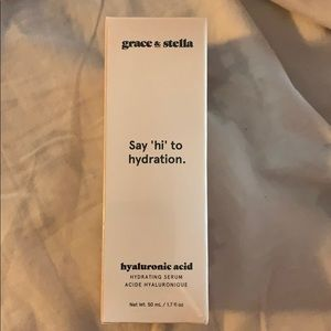 Grace and Stella hyaluronic acid.